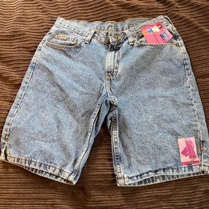 Vintage NWT Riders Stone Washed Jean Shorts